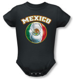 Infant: Mexico Infant Onesie