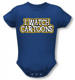 Infant: I Watch Cartoons Infant Onesie