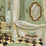 Designer Bath I Posters by Karen Dupré