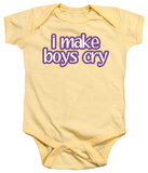 Infant: I Make Boys Cry Infant Onesie