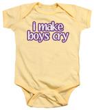 Infant: I Make Boys Cry Infant Onesie