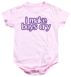 Infant: I Make Boys Cry Shirts