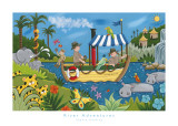 River Adventures Prints by Sophie Harding