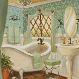 Designer Bath II Prints by Karen Dupré