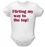 Infant: Flirting Infant Onesie