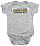 Infant: Hazardous Infant Onesie