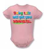 Infant: Baby Talk Infant Onesie