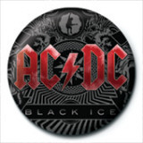 AC/DC - Black Ice Badge Button Badge