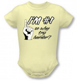 Infant: I'm Number 1 Infant Onesie