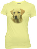Juniors: Hangover II- Frisky Bizpets Yellow Lab T-Shirt