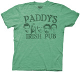 It's Always Sunny in Philadelphia - Paddy's Pub with Faces (Slim Fit) T-shirts