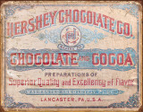 Hershey's - Chocolate & Cocoa Tin Sign