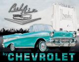 Chevy - '57 Bel Air Plaque en métal