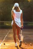 Chica tenista Foto