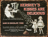 Hershey's - Kisses Tin Sign