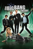 Big Bang Theory - Sci-Fi Print