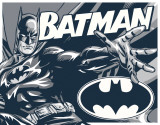 Batman - Duotone Tin Sign