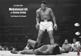 Muhammad Ali vs. Liston  Landscape Posters