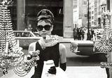Audrey Hepburn – Window Poster