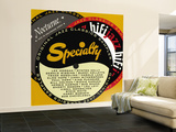 Specialty Nocturne HiFi Sampler Wall Mural – Large