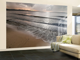 Lake Victoria Sunset at Tembo Beach Hotel, Musoma, Tanzania Wall Mural – Large por Alison Jones
