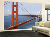 Golden Gate Bridge from Vista Poin Wall Mural – Large par Orien Harvey