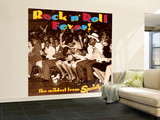 Rock 'N' Roll Fever! the Wildest from Specialty Wall Mural – Large