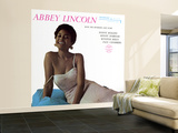 Abbey Lincoln - With the Riverside Jazz Stars Wall Mural – Large