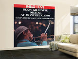 Dizzy Gillespie - Digital at Montreux 1980 Wall Mural – Large
