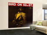 Charlie Parker - Bird on 52nd Street Wall Mural  Large