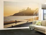 La plage d'Ipanema, Rio de Janeiro, Brésil Reproduction murale géante par Micah Wright