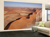 View of Namib Desert Sand Dunes, Namib-Naukluft Park, Sossusvlei, Namibia, Africa Wall Mural – Large by Wendy Kaveney
