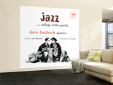 Dave Brubeck Quartet - Jazz at College of the Pacific Wall Mural – Large