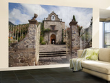 Church, Ajijic, Lake Chapala, Jalisco, Mexico Wall Mural – Large by Douglas Peebles