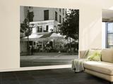 Cafe, Quai De L'Hotel De Ville, Marais District, Paris, France Wall Mural – Large by Jon Arnold