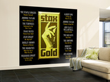 Stax Gold Wall Mural – Large