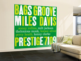 Miles Davis - Bags Groove Wall Mural – Large