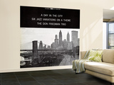 Don Friedman Trio - A Day in the City Wall Mural – Large