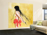 Tangles Wall Mural – Large by Charmaine Olivia