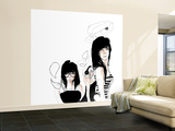 Ankles Wall Mural – Large by Charmaine Olivia
