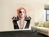 Ophelia Wall Mural  Large by Charmaine Olivia