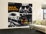 Max Roach - Deeds, Not Words Wall Mural – Large
