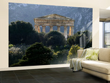 Ruined Greek Doric Temple Wall Mural – Large by Doug McKinlay