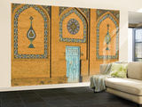 Exterior Wall at Friday Mosque or Masjet-Ejam Wall Mural – Large by Jane Sweeney