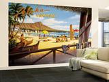 Aloha Hawaii Premium Wall Mural (Large)