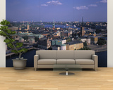 Gamla Stan from Town Hall, Stockholm, Sweden Wall Mural – Large by Jon Arnold