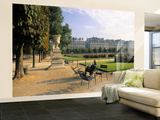 Jardin Du Tuilleries, Paris, France Wall Mural – Large by Jon Arnold