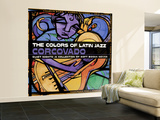 The Colors of Latin Jazz: Corcovado Wall Mural – Large
