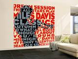 Dream Session, The All-Stars spiller Miles Davis-klassikere Veggmaleri – stort