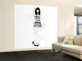 I Will Invent Wall Mural – Large by Manuel Rebollo